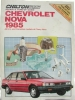 Chilton's Repair & Tune-up Guide Chevrolet Nova 1985 $4.95
