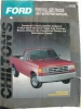 Chilton's Ford Full Size Trucks 1987-93 Repair Manual $4.95