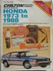 Chilton Repair Manual Honda 1973 to 1988 $4.95