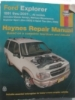 Haynes Ford Explorer Automotive Manual $7.95