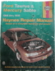 Haynes Ford Taurus and Mercury Sable Automotive Repair Manual $4.95