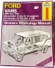 Haynes Ford Vans 1969 thru 1988 Automotive Repair Manual $7.95