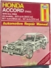 Haynes Honda Accord CVCC Automotive Repair Manual $7.95