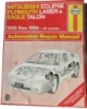 Haynes Mitsubishi Eclipse, Plymouth Laser, Eagle Talon Automotive Repair Manual $7.95