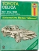 Haynes Toyota Celica Automotive Repair Manual $7.95