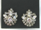 Rhinestone Fashion Clip On Earrings $4.95
