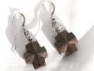 Abundant Blessings Wood Cross Earrings $9.95