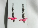 Fashion Bird Linear Drop Hook Earrings $4.95