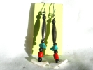 Native American Linear Drop Hook Earrings $14.95