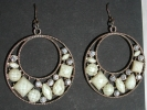 Vintage Hoop Dangle Hook Earrings $24.95