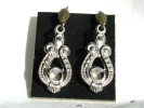 Vintage Fashion Leverback Hook Earrings $4.95