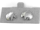 Sterling Silver Bear Post Earrings $7.95