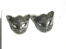 Sterling Silver Cat Post Earrings $9.95