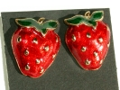 Strawberry Post Earrings $9.95
