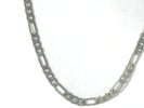 925 Silver Figaro Chain Necklace $44.95