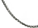 925 Italy Silver Rolo Chain Necklace $7.95