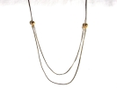 Gold Endless Pull Chain Necklace $9.95