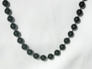Black Bead Fashion Choker Necklace $3.95