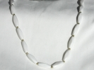 Faceted Oval Bead Fashion Necklace $9.95