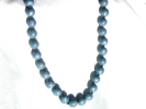 Light Blue Bead Fashion Necklace $9.95