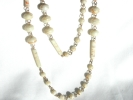 Coral Bead Fashion Station Necklace $9.95