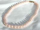 Pink Pearl Strand Necklace $59.95