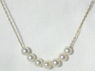 14K 5mm Pearl Pendant Necklace $99.95