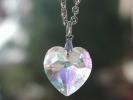 3D Heart Pendant Necklace $19.95