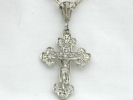 925 Silver Filigree Crucifix Pendant Necklace $74.95