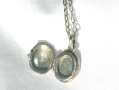 925 Silver Locket Pendant Necklace $9.95