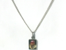 925 Silver Rosebud Necklace $14.95