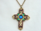 Avon Gold Cross Pendant Necklace $29.95