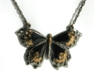 Black Butterfly 1928 Pendant Necklace $9.95