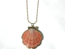 Jane Craft Scallop Shell Pendant Necklace $29.95
