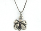 Sterling Silver Butterfly Pendant Necklace $9.95