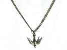 Sterling Silver Dove Pendant Necklace $9.95