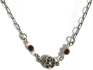 Sterling Silver Flower Pendant Necklace $9.95