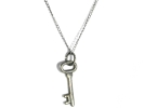 Sterling Silver Key to My Heart Pendant Necklace $9.95