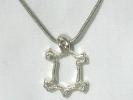Sterling Silver Turtle Pendant Necklace $19.95