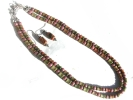 Jasper Double Strand Necklace and Earrings Set $19.95