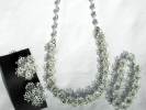 Vintage Daisy Necklace, Bracelet and Earring Set $9.95
