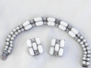Weiss Bracelet and Clip Earring Set $19.95